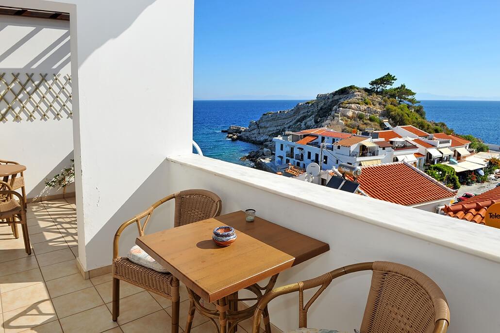 kleinschalig appartementencomplex griekenland