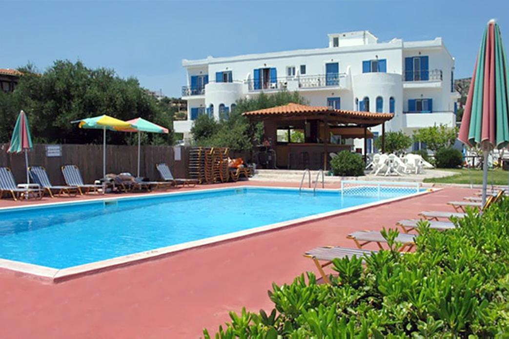 Bijzondere accommodaties Artemis Beach Hotel & Appartementen in Agios Nikolaos (Kreta, Griekenland)