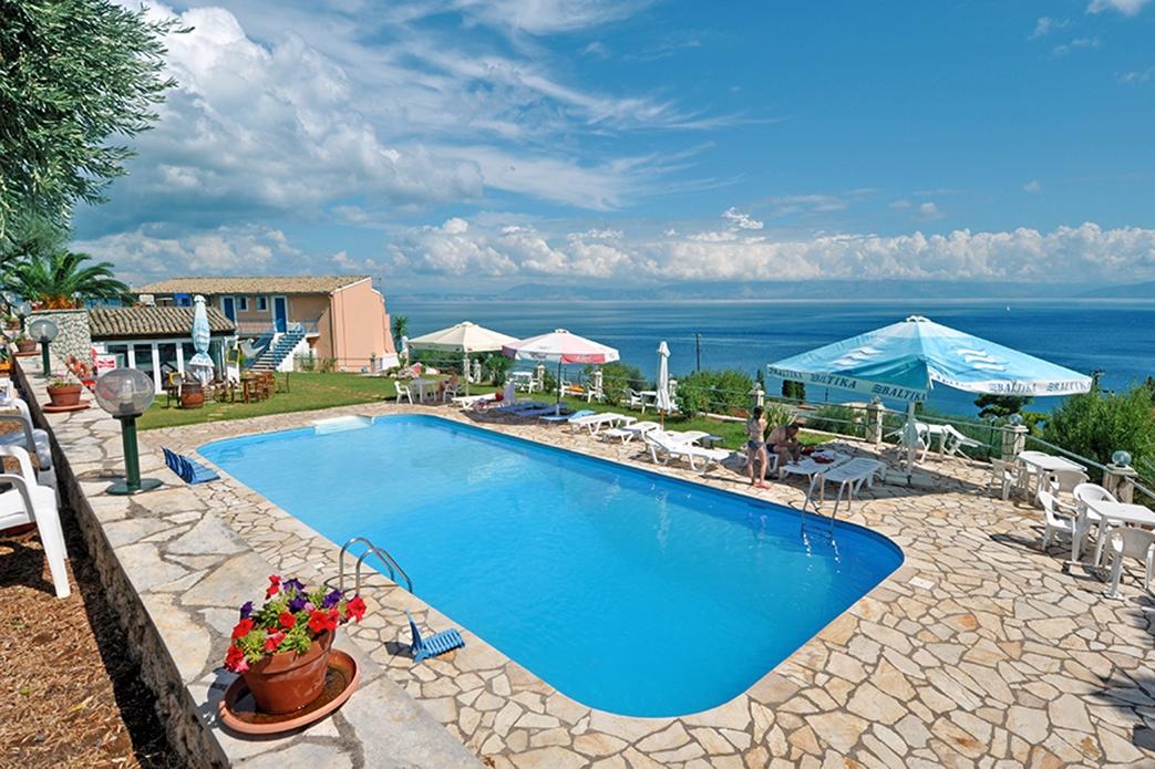 Bijzondere accommodaties Anna's Appartementen in Benitses (Corfu, Griekenland)
