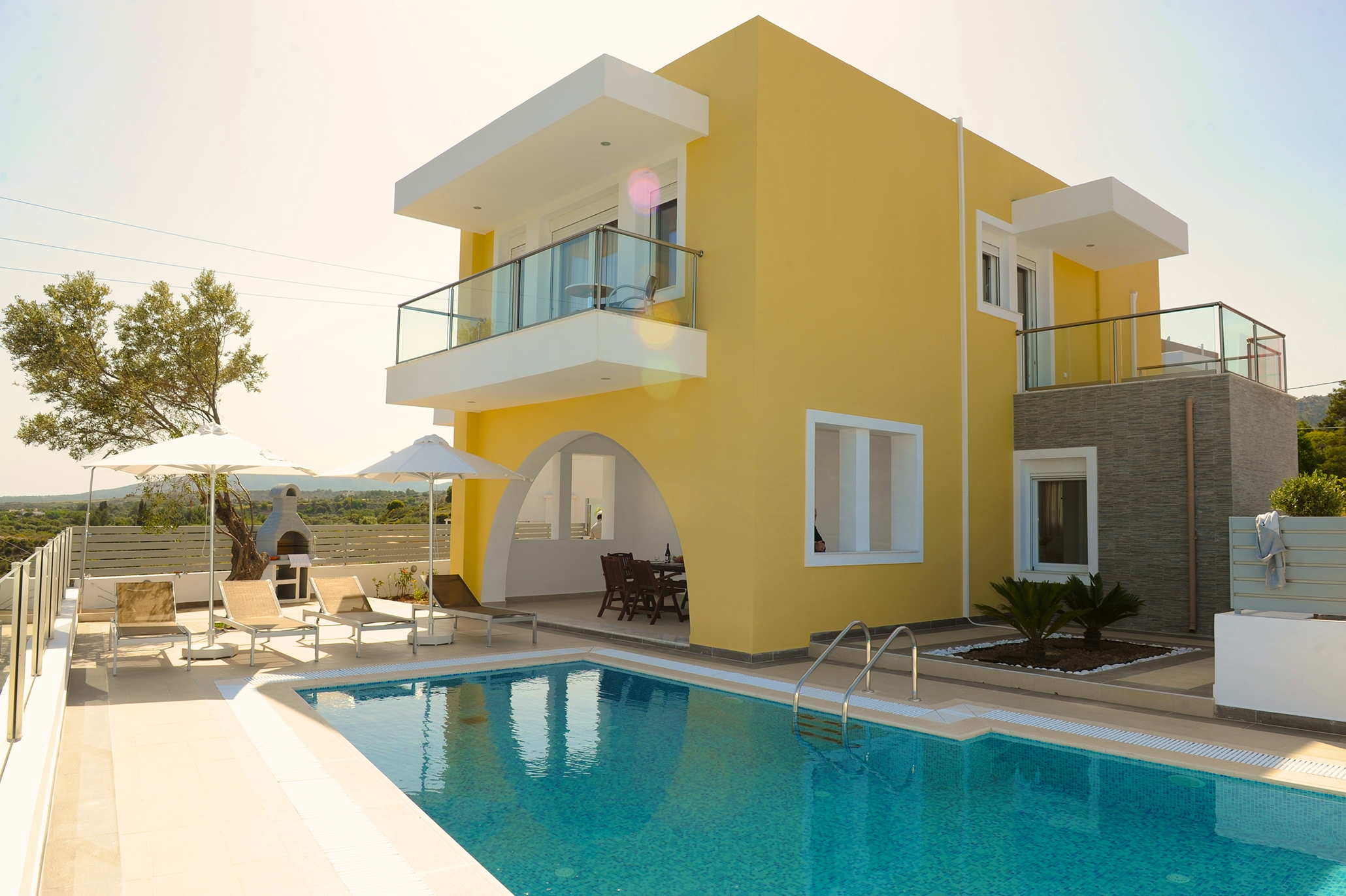 Bijzondere accommodaties Aegean Horizon Villas in Gennadi (Rhodos, Griekenland)