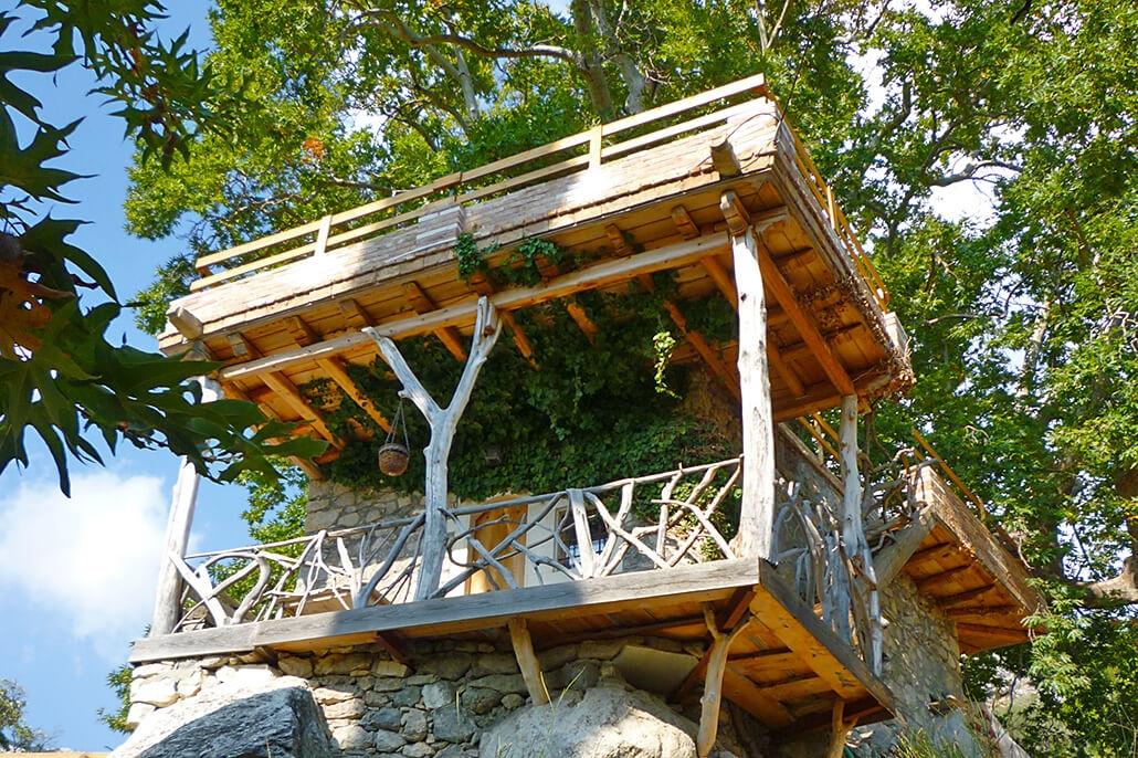 Bijzondere accommodaties Akros Oreon Green Small Hotel in Kato Simi (Kreta, Griekenland)