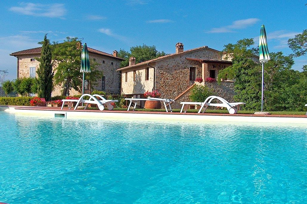 Bijzondere accommodaties Borgo il Villino in Pievescola (Toscane, Italië)