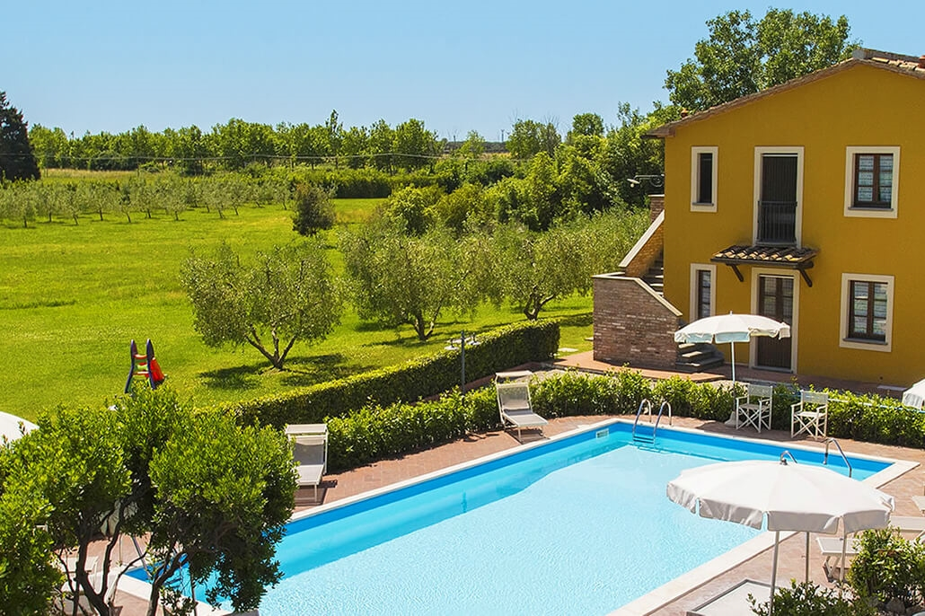 Bijzondere accommodaties Casale Etrusco in Donoratico (Toscane, Italië)