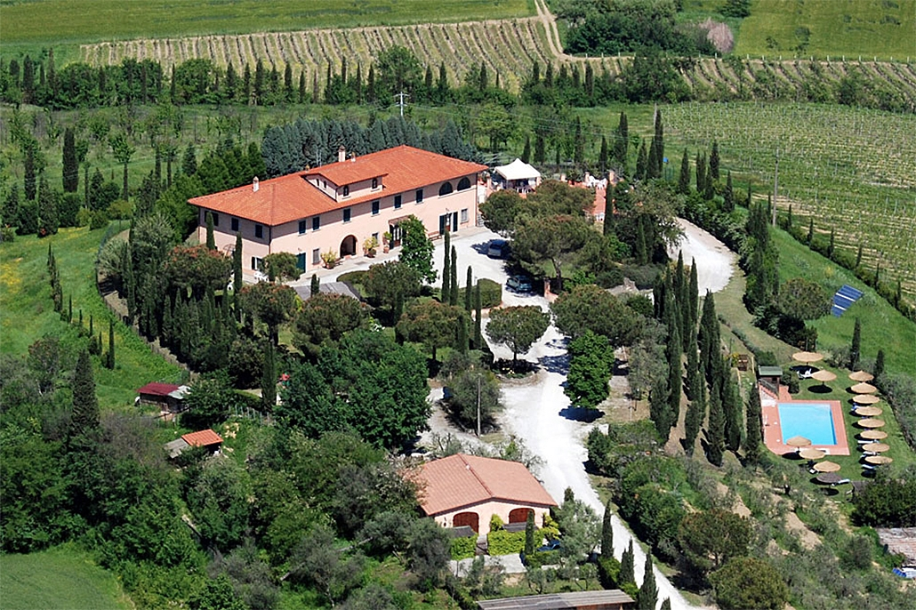 Bijzondere accommodaties Agriturismo Isola Verde in Cerreto Guidi (Toscane, Italië)