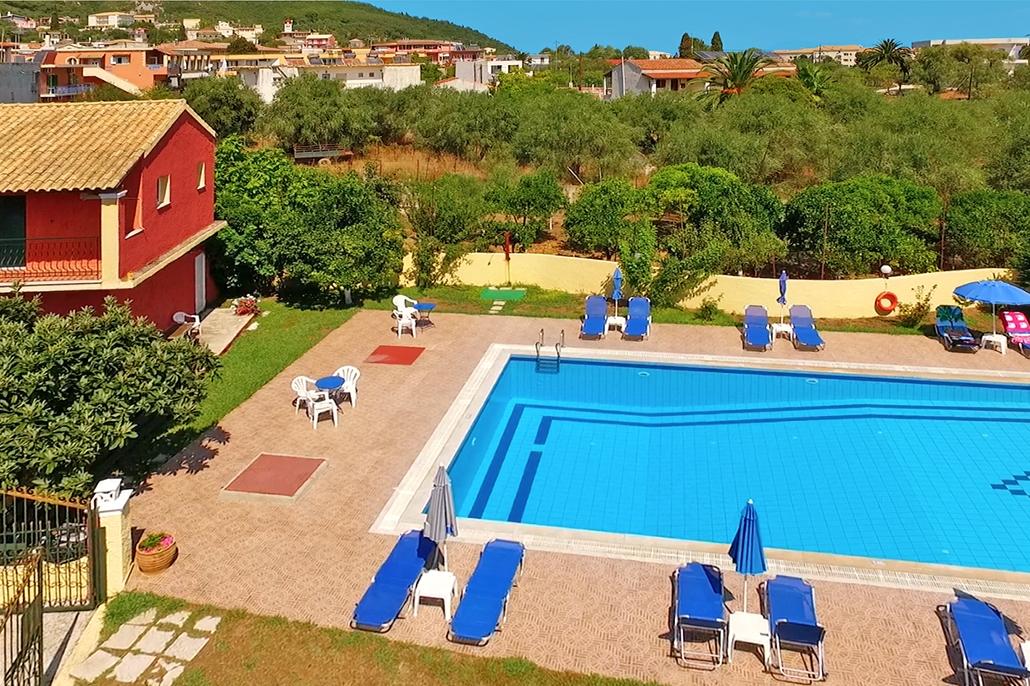 Bijzondere accommodaties Anna Maria Appartementen in Moraitika (Corfu, Griekenland)