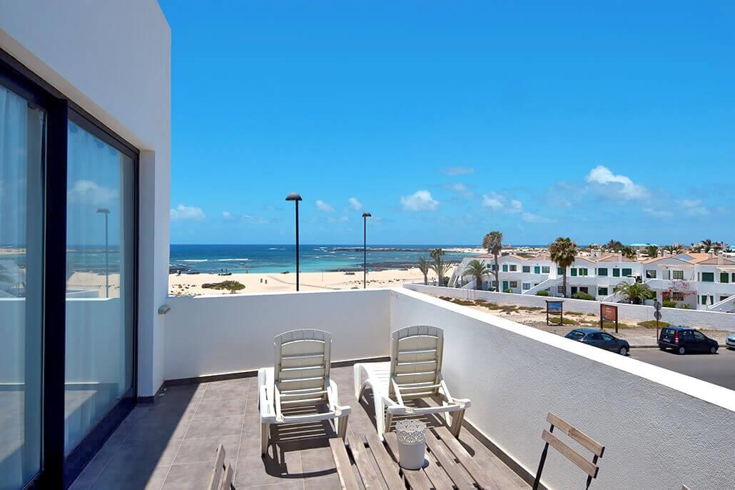 Bijzondere accommodaties Appartementen Cotillo Mar in Cotillo Mar (Fuerteventura, Spanje)