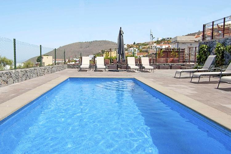 Bijzondere accommodaties Casa Erques I & II in Vera de Erques (Tenerife, Spanje)