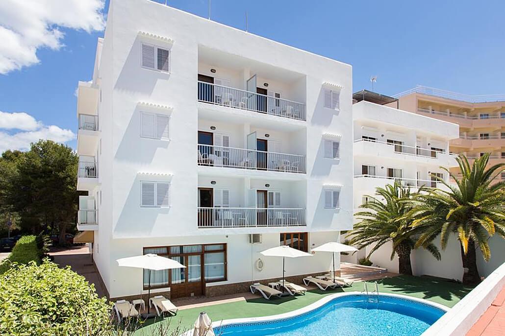 Bijzondere accommodaties Appartementen Sofia in Es Canar (Ibiza, Spanje)