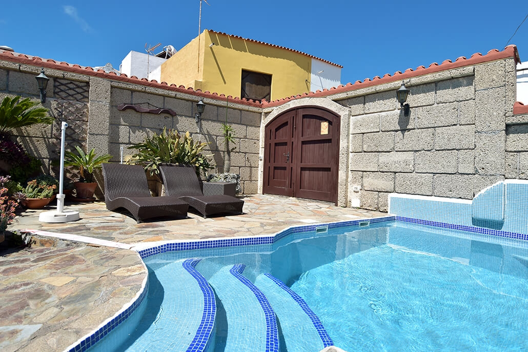 Bijzondere accommodaties Casa el Cango in Arico Nuevo (Tenerife, Spanje)