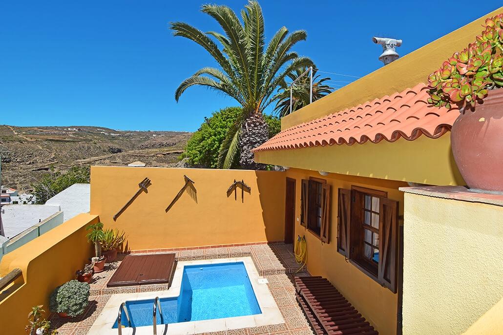 Bijzondere accommodaties Casa el Mirador in Arico Nuevo (Tenerife, Spanje)